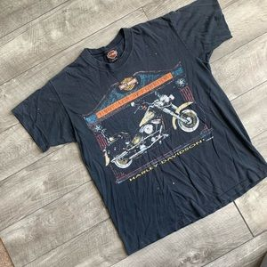 Vintage single stitch Harley Davidson t-shirt